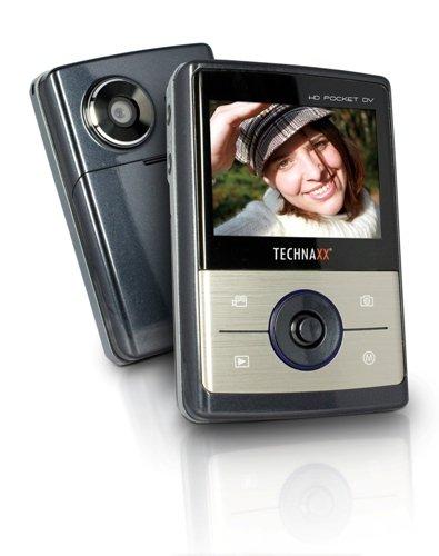 Technaxx HD Pocket DV - HD Camcorder dunkelgrau