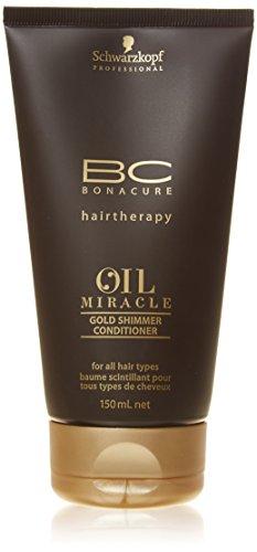Après-shampoing BC Bonacure par Schwarzkopf Oil Miracle, Doré, 150 ml.