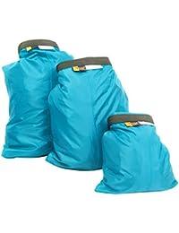 PIXNOR 3 piezas 1.5L + 2 + 3, 5L. Impermeable para Camping rinolaringitis kayakismo Rafting pesca