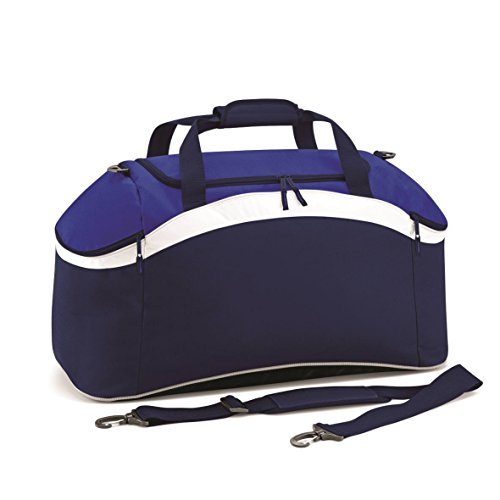 BagBase Teamwear Holdall French Navy/Classic Red/White