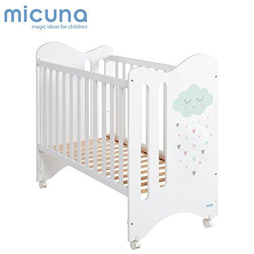 Micuna Lili - Cuna, unisex, color blanco
