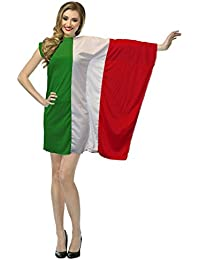 The Dragons Den Ladies Italy Flag Fancy Dress St Francis Day Italian Costume