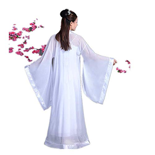 Susichou Kostüm Kostüm rot und weiß Hanfu Xia Damenbekleidung Tang Anzug Fee Kostüm Tanz Foto Studio Foto (XL) (Tanz Studio Kostüm)