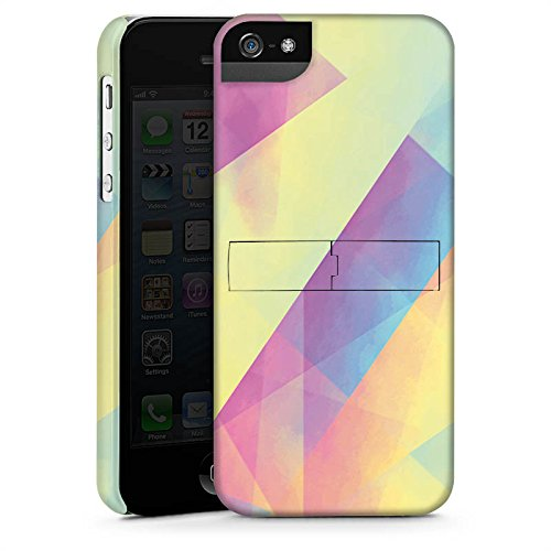 Apple iPhone X Silikon Hülle Case Schutzhülle Pastell Frühling Farben Premium Case StandUp