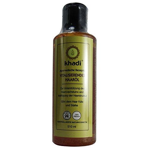 Khadi Olio Rivitalizzante Capelli Rinforzante Stimolante Crescita Anti Ingrigimento Caduta 210 ml