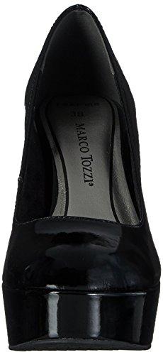 Marco Tozzi 22447, Escarpins femme Noir - Noir