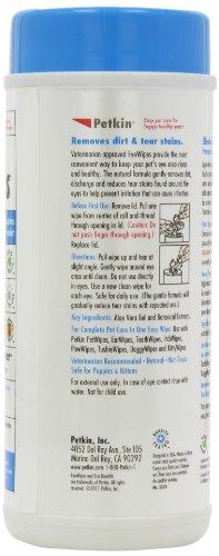 Petkin Jumbo Eye Wipes, Pack of 80 (pack of 4) 3
