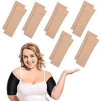 6 pares de brazos, adelgazantes, compresión elástica del brazo Shapers del brazo, para mujeres y niñas, pérdida de peso (color nude)