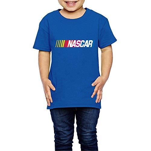 Kinder Jungen Mädchen Shirts NASCAR T Shirt Kurzarm T-Shirt Für Tollder Jungen Mädchen Baumwolle Sommer Kleidung Royalblau 4 T Cotton Duck Vest