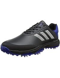 low priced e05e3 36d96 adidas Adipower Bounce Wd, Zapatos de Golf Hombre, NegroPlataAzul,
