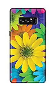 ZAPCASE Printed Back Cover for Samsung Galaxy Note 8