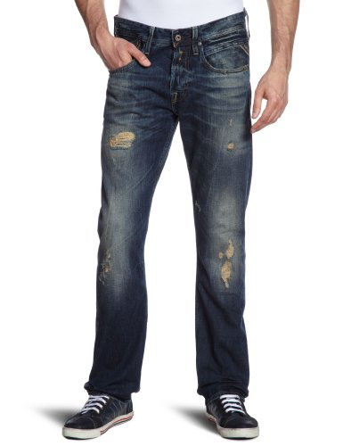 Replay Jeans uomo, 12.5 OZ FLAT FINISH DENIM, 31/34