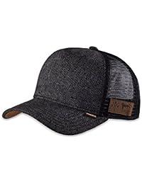 DJINNS - Spotted Tweed 2013 (black) - High Fitted Trucker Cap