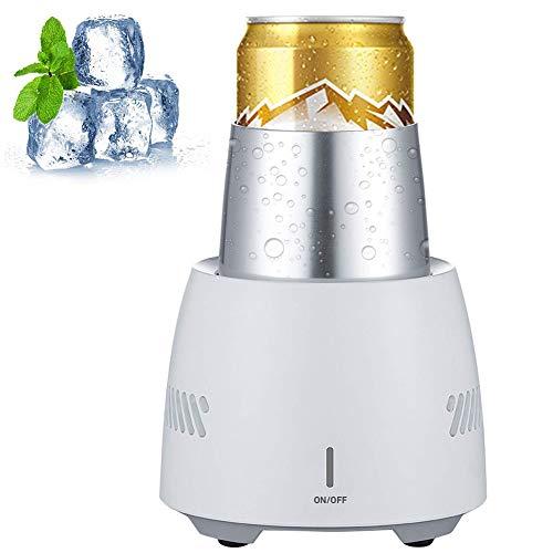 FUTNTCTL Schnelle Eiskühlung Cup Machine Tragbarer Kühler Instant Cooling Mini Mobile Refrigerator Kühlt Ihr Getränk Desktop Car Refrigeration