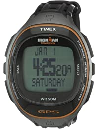 Timex T5K575 Mens Run Trainer GPS Watch with HRM