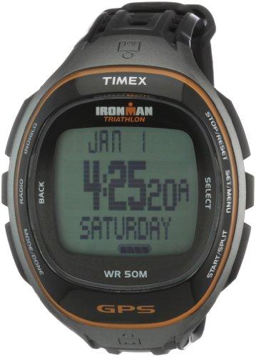Timex Ironman Run Trainer GPS con CARDIO T5K575 -  Orologio uomo