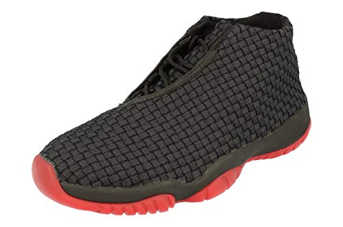 Nike Air Jordan Future Herren Hi Top Basketball Trainers 656503 Sneakers Schuhe (UK 7 US 8 EU 41, Black Gym red White 006)