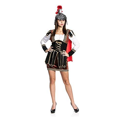 Kriegerin Römische Kostüm (Kostümplanet® Römer-Kostüm Damen sexy Römerin Kostüm römische Kriegerin Größe)