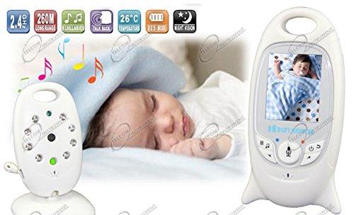 Generic XP-601 Wireless Digital Video Baby Monitor Nachtsicht -Kamera Weiß - 2