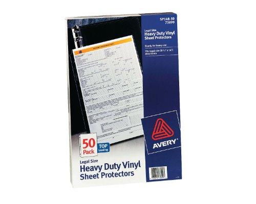avery-73899-legal-vinyle-50pieces-protecteur-de-feuilles-protecteurs-de-feuilles-legal-vinyle-50-pie