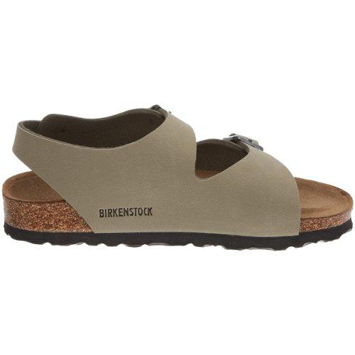 Birkenstock Roma, Sandales Fille Nubuk kaki