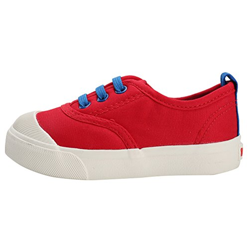 Low Leroy top Unisex Sneaker Rot Alexis kinder Babyschuhe Stoffschuhe xqOnPa