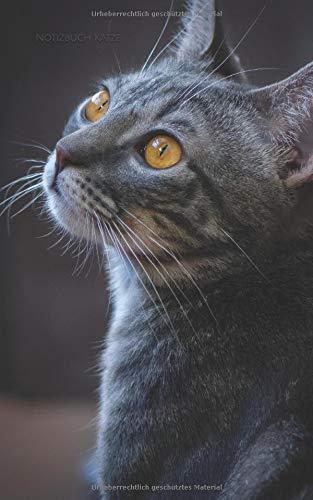 Notizbuch Katze: kariert | 130 Seiten | Softcover | 5x8 Zoll