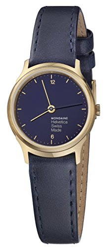 Mondaine Unisex-Adult Analog Quartz Watch with Leather Strap MH1.L1141.LD