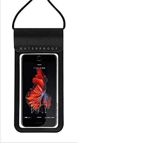 TMMDZZ Handytasche Wasserdicht, DOPPELT VERSIEGELT, wasserdichte Handyhülle, Staubdicht für iPhone X/XR/XS/8/7/Galaxy S10/S9/P30/P20 bis 6, 5 Zoll, geeignet für Schwimmen, Tauchen usw. -