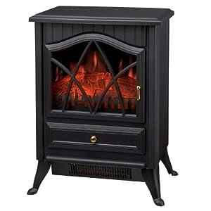Sentik 1850w Log Burning Flame Effect Electric Stove Heater Fire Fireplace