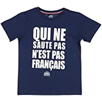 Nations of football t-shirt supporter france enfant 10 ans