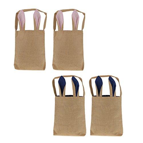 MagiDeal 4 Stücke Ostern Taschen Körbe Beutel Tüten Geschenk Tasche DIY Ostereier Verpackung