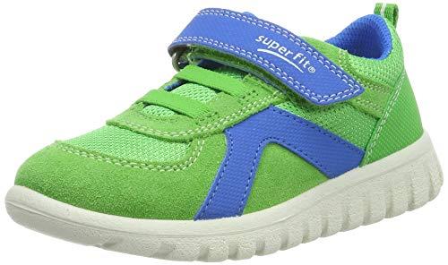 superfit Baby Jungen SPORT7 Mini Sneaker, (Grün/Blau 70), 28 EU