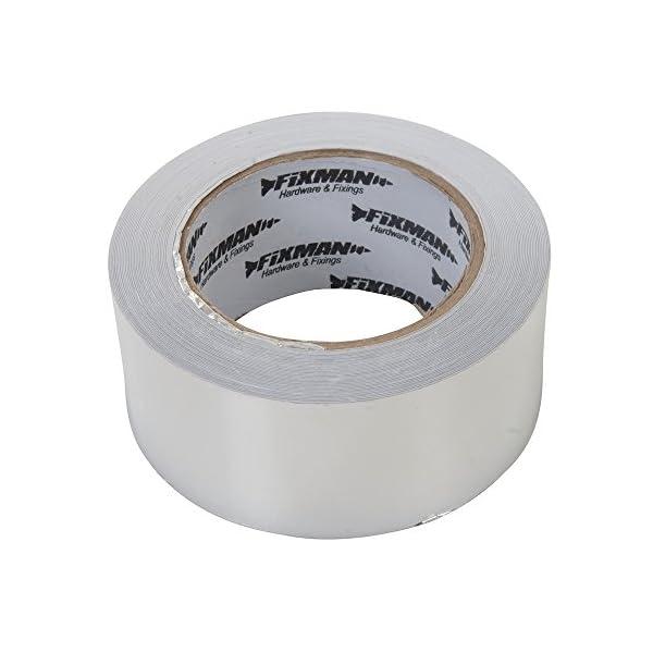 Fixman 190288 – Cinta adhesiva de aluminio (tamaño: 50mm)
