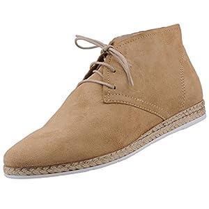 Damen Desert Boots Braun