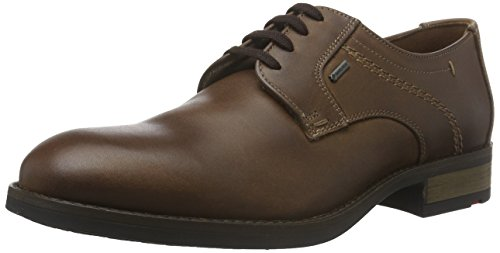 Lloyd Velo Gore-tex, Derby homme Marron - Braun (saddle 3)