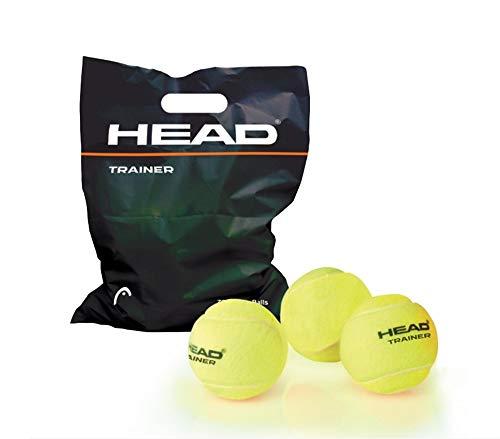 Head Pelotas De Tenis Trainer Polybag Bolsa De 72