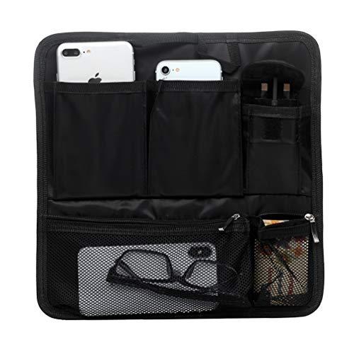Schwarz Aufbewahrungstaschen, Mehrzweck Qualitäts Wasser Beständiger Rucksack Einsatz Organisator für Kosmetik Telefon - Quadrat