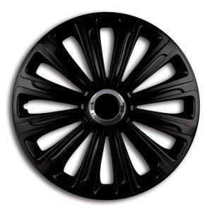 ALTIUM 505117 Boite de 4 Enjoliveurs 17 Pouces Chrome//Black Set de 4