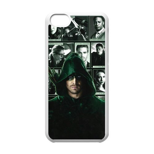 LP-LG Phone Case Of Green Arrow For Iphone 5C [Pattern-6] 3D/white/black