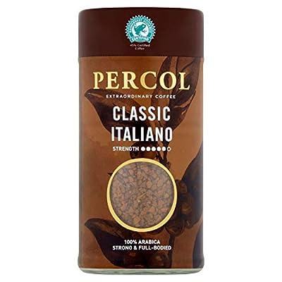 PERCOL Rainforest Alliance Classic Italiano Freeze Dried Instant Coffee 100g