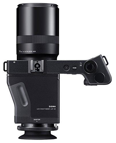 Sigma dp0 Quattro Digitalkamera inkl. View Finder LVF-01 schwarz