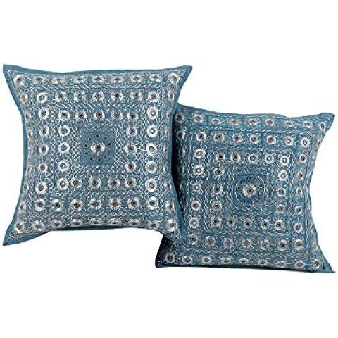 Blu indiano Set di 2 Living Room