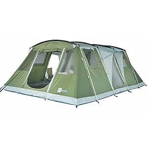 Skandika Nizza Family Tent - 6 Person, Green