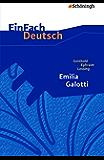 EinFach Deutsch Textausgaben - Gotthold Ephraim Lessing: Emilia Galotti (German Edition)