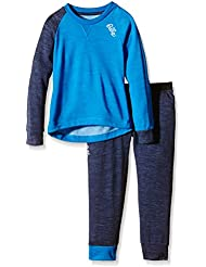 Odlo niños ropa interior para niños juego de Revolution TW larga, eurounificador color azul marino talla - New Melan, 104, 110189