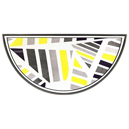 Tapis de Cuisine met Amour Semi-Circulaire Salon Chambre à Coucher Tapis de Sol Paillasson Tapis antidérapant Tapis Absorbant 60 * 120 cm