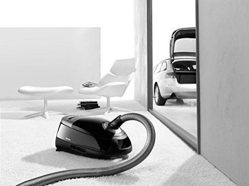 Miele Complete C2 Power Line Bagged Cylinder Vacuum Cleaner, 4.5 L, 1200 W – Black