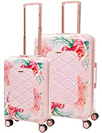 8860d6565 Aerolite Lightweight Polycarbonate Hard Shell 4 Wheel 3 Piece Luggage  Suitcase Set