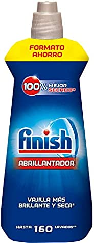 Finish Abrillantador Lavavajillas Regular, 800 ml, 160 dosis